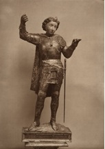 Fig. 3 Italian (Veneto), 15th century, Saint Michael, c.1450, University of Arizona, Museum of Art, photo: Vittorio Jacquier, 1930/1.