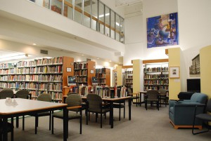 Albert M. Greenfield Library interior.
