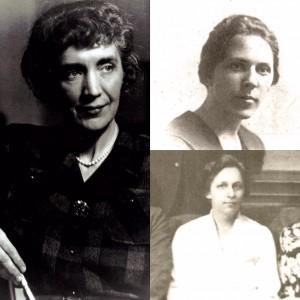 Elmira Bier, Minnie Byers, and Marjorie Phillips