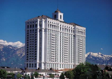 Exterior of Grand America Hotel, Salt Lake City, Utah